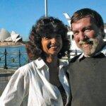 Carolyn and Fatty in Sydney, Australia 2001