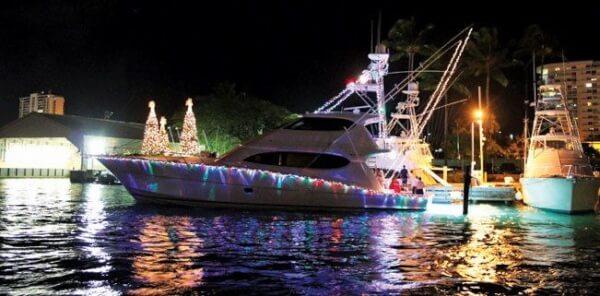 Club Nautico de San Juan Christmas Boat Parade. Photo: Virginia de los Reyes