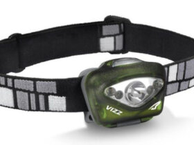 The incredibly powerful Princeton Tec Vizz headlamp.
