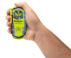 ACR's compact but capable Personal Locator Beacon the Resqlink+.