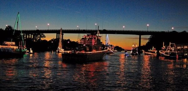 """The Alabama Gulf Coast Area Chamber of Commerce presents """"A Coastal Christmas,"""" a month long celebration including land and sea parades, food, singing and of course, Santa. Photos courtesy of Clayton Wallace and the Alabama Gulf Coast Area Chamber of Commerce"""
