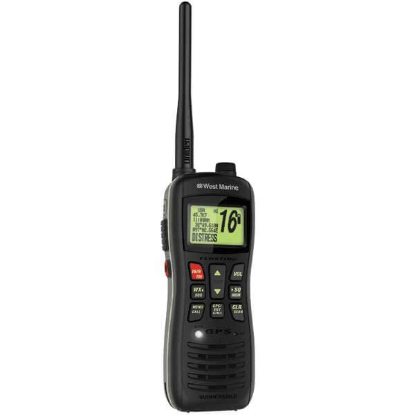 West Marine's very capable new VHF 460 radio.
