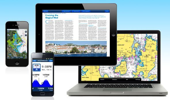 Navionics new mobile apps allow you to bring great charting with you on your phone or tablet.