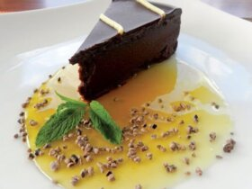 Grenadian Chocolate Sin Cake, Recipe from Angela Smith, Caribbean Dream