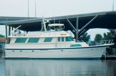 61' Hatteras. Photo Courtesy of Bayport Yachts