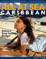 All At Sea - The Caribbean's Waterfront Magazine - December 2013