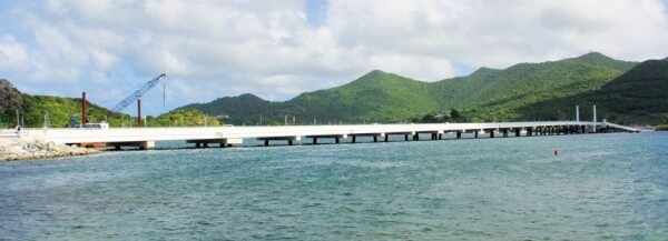 Simpson Bay Lagoon Causeway. Photo: OceanMedia