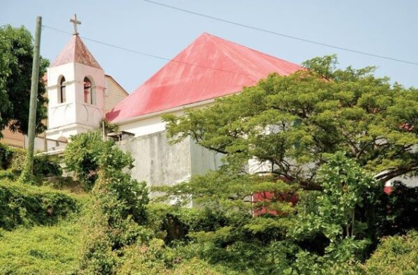 Emmaus Moravian Church, Coral Bay. Photography by Dean Barnes