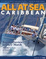 All At Sea - The Caribbean's Waterfront Magazine - January 2014