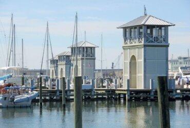 New marina construction - Gulfport Small Craft Harbor - Gulfport, Mississippi. Photo Credits: Tony Gilbert