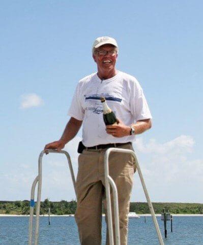 Jim Moores. Photo Credit: Moores Marine, Inc.