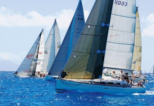 Fleet racing brings together boats of all shapes and sizes racing under a handicap system. Photo: OceanMedia