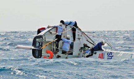Die Hard Island Water World suffered the biggest knockdown. Photo: Peter Marshall