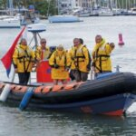 Sint Maarten Sea Rescue in their new foul weather jackets
