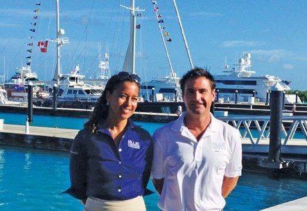 Adam Foster and Portia Mogal