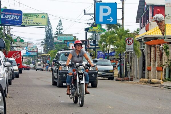 The moto is the best way to get around Cabarete. Photo by Tasha Hacker