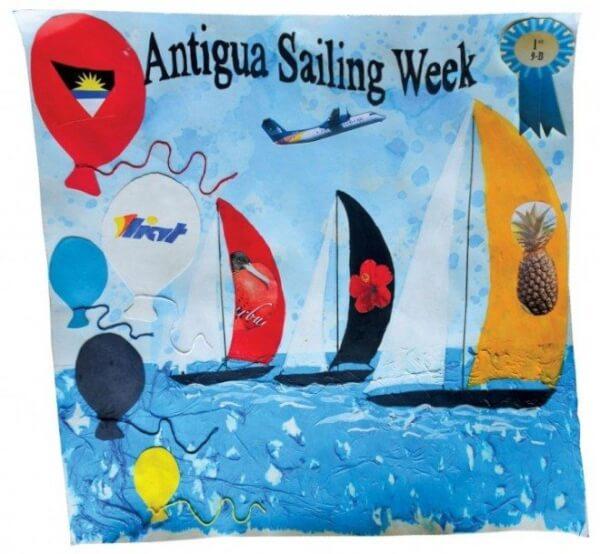 Antigua Sailing Week Artwork