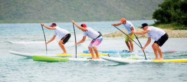 The Painkiller Cup gets under way at Trellis Bay, Beef Island. Photo by Todd VanSickle
