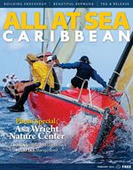 All At Sea - The Caribbean's Waterfront Magazine - February 2014