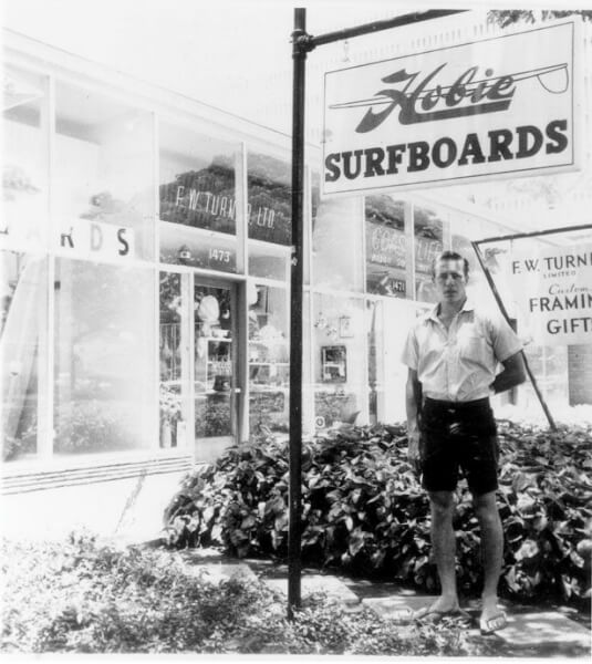 Dana Point, Calif. is home to Hobie's first surf shop, which opened in 1954. Photo Courtesy of the Alter family