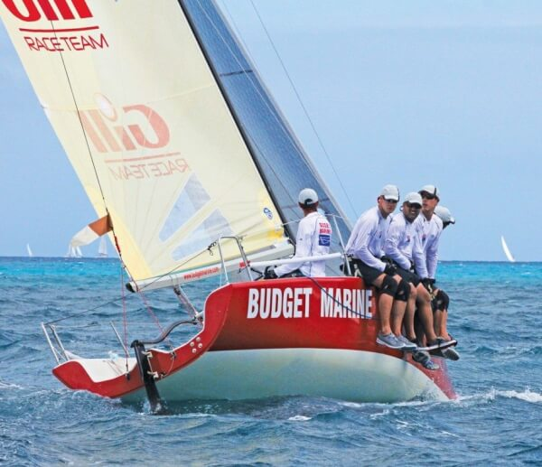 Team Budget Marine/Gill, winners of CSA 5, didn't lose a race in the Melges 24 fleet. Photo: Gary Brown/OceanMedia