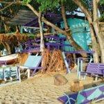 Sundowners' beachside deck. Photo by Janet Hein