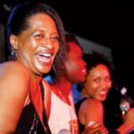 Great parties with the Rocky Pontoons, featuring talented young Grenadian artists Sabrina Francis and Tammy Baldeo