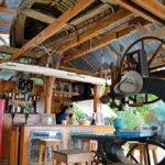 Inside the Slipway Restaurant. Photo by Janet Hein