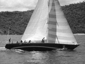 Sparkman & Stephens designed RUNNING TIDE by Royal Huisman