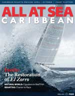 All At Sea - The Caribbean's Waterfront Magazine - April 2014