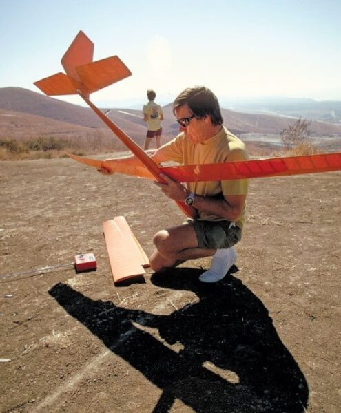In 1974, Hobie introduced the remote-controlled Hobie Hawk. Photo Courtesy of the Alter family