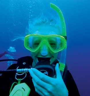 Blowing bubbles with Odyssey Expeditions