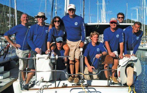 Team Red StripeReba, winners of the 2013/14 Goslings Series