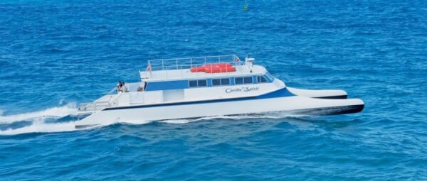 Caribe Spirit (81ft) in action. Photos courtesy of Gold Coast Yachts