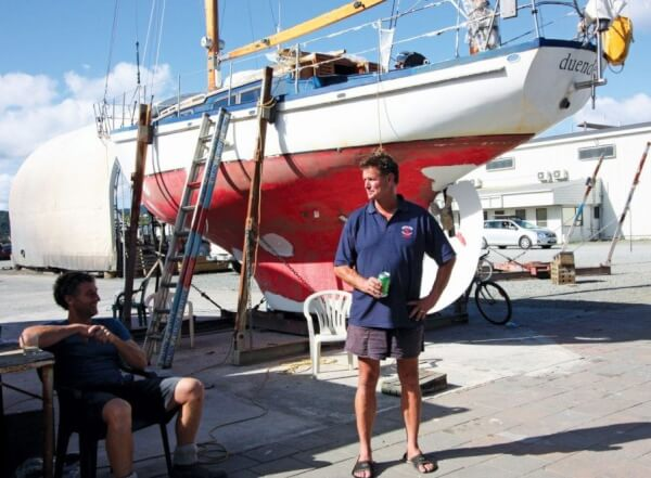 Charlie of Dockland 5, a true friend to the cruising yachtsmen of NZ