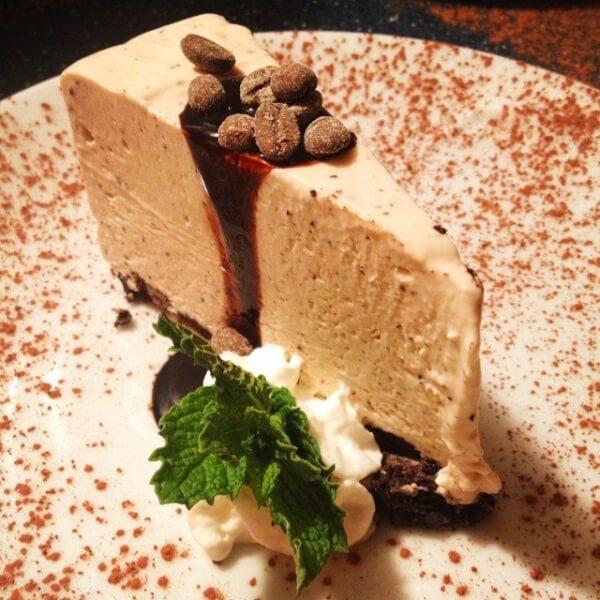 Frozen Tiramisu Pie