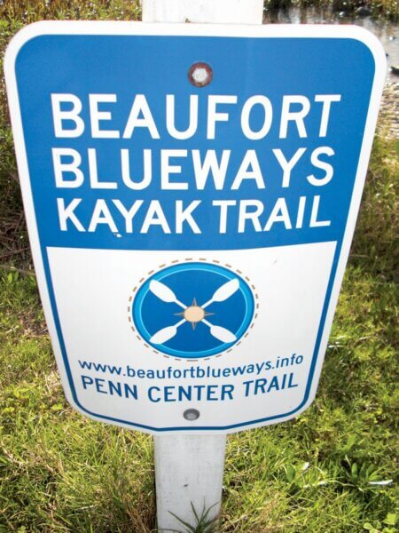 The SE Trail unites older and smaller trail like the Beaufort Blueways. Photo by Jeff Dennis