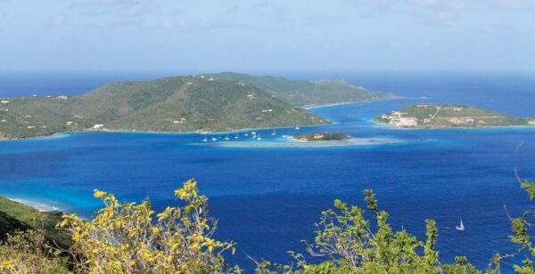 There can be no mistaking the British Virgin Islands … or can there? Photos by Gayle Suhich
