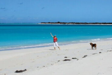 Compare Pacific Cruising to the Caribbean: A Pacific atoll? No, the Turks and Caicos. Photos by Gayle Suhich