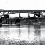 A bridge as seen via a FLIR Thermal Imager. Photo courtesy of FLIR