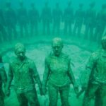 Underwater sculptures, Grenada