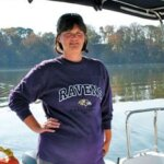 """Terry confident to take the helm after attending """"Women and Cruising"""" Seminar"""