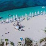 Many shades of blue! Bart's Bash, Turks and Caicos Islands. Photo: John Lawson