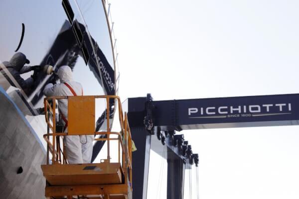 R&R at picchiotti yard perini navi group