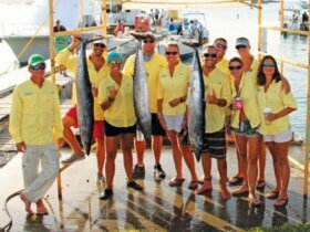 Team Living the Dream was Best Boat for the Guys day of fishing in the Guy/Gal Tournament. Photo: Alda E. Anduze