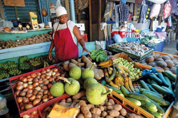 Tobago – fruits vegetables and more. Photo: Dean Barnes