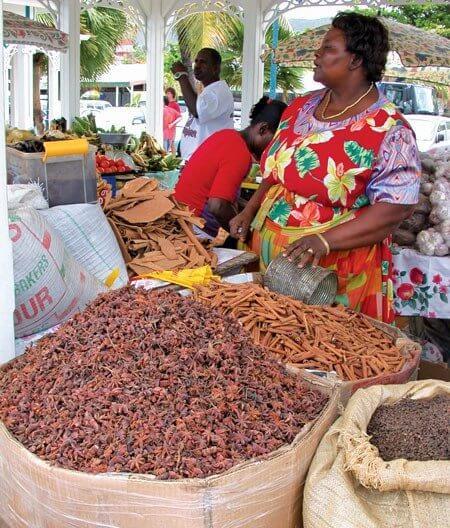 Marigot market, St. Martin. Photo: Claude Cavallera