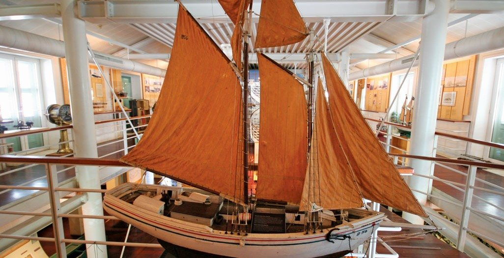 Model and gallery at the Curacao Maritime Museum. Photo: OceanMedia
