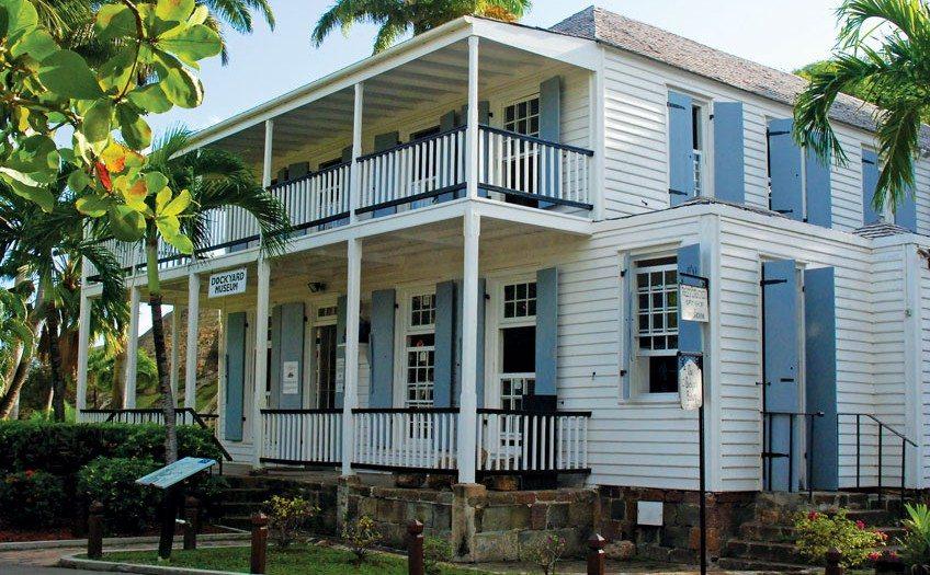 Antigua Dockyard Museum. Photo courtesy of National Parks Antigua