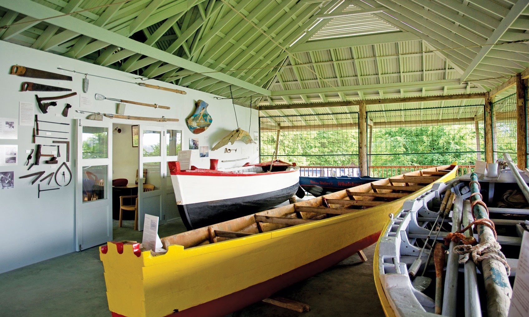 History and heritage at the Bequia Boat Museum. Photo courtesy Bequia Heritage Foundation